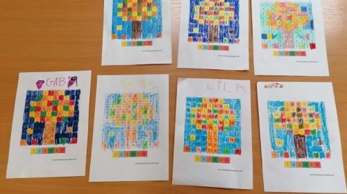 Obrazek galerii ''Jesienna matematyka'' w grupie 6.