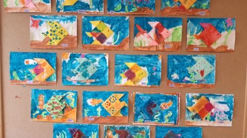 "Obrazek galerii ""Moje akwarium""- grupa 5."