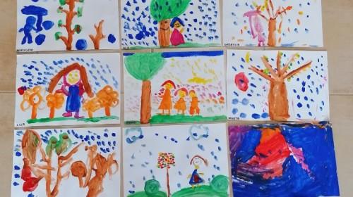"""Obrazek galerii """"Jesienne nastroje""""- grupa 6."""