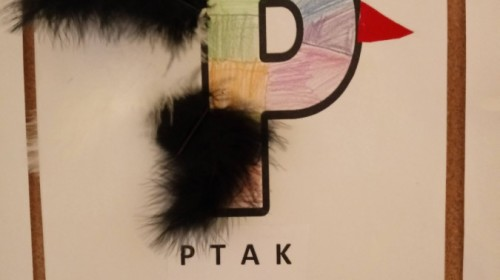 "Obrazek galerii ""Znamy literę P""- grupa 5."