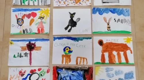 Obrazek galerii ''Moje domowe zwierzęta'' - grupa 6.