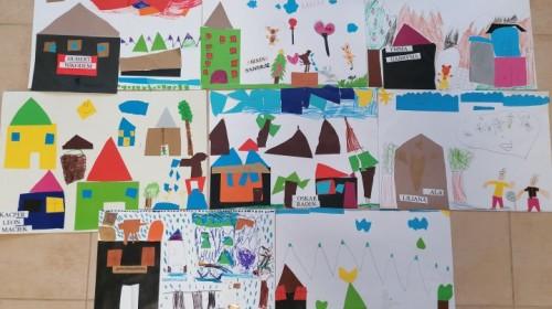 Obrazek galerii ''Moje miasto'' - grupa 6.