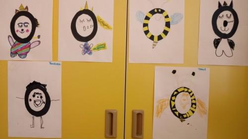 """Obrazek galerii """"Poznajemy literę O""""- grupa 5."""