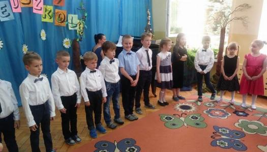 Obrazek newsa Pożegnanie z przedszkolem - Grupa V