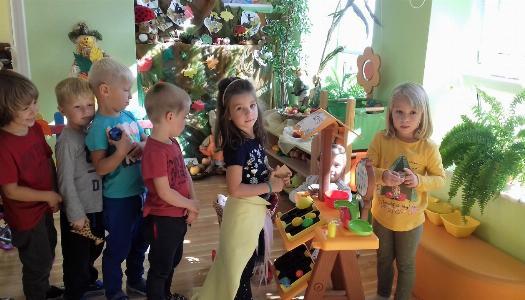 """Obrazek newsa """"Jesień w sadzie i ogrodzie"""" - Grupa IV"""