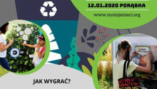 """Obrazek newsa """"Mniej śmieci=więcej życia!"""" - Weź udział w konkursie"""