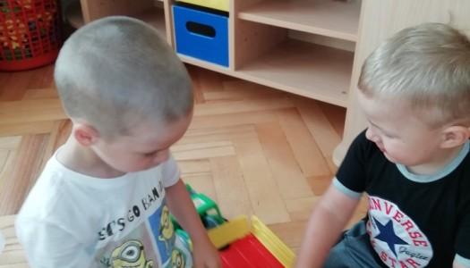Obrazek newsa Pierwsze dni w przedszkolu.