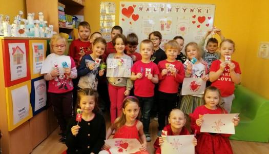 Obrazek aktualności Walentynki w grupie 6.