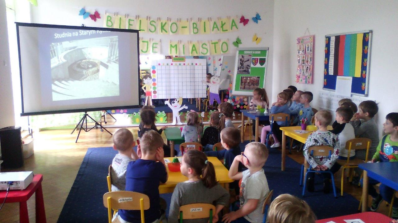 Obrazek newsa Międzyprzedszkolny Konkurs o Bielsku - Białej w Przedszkolu Niepublicznym Elf